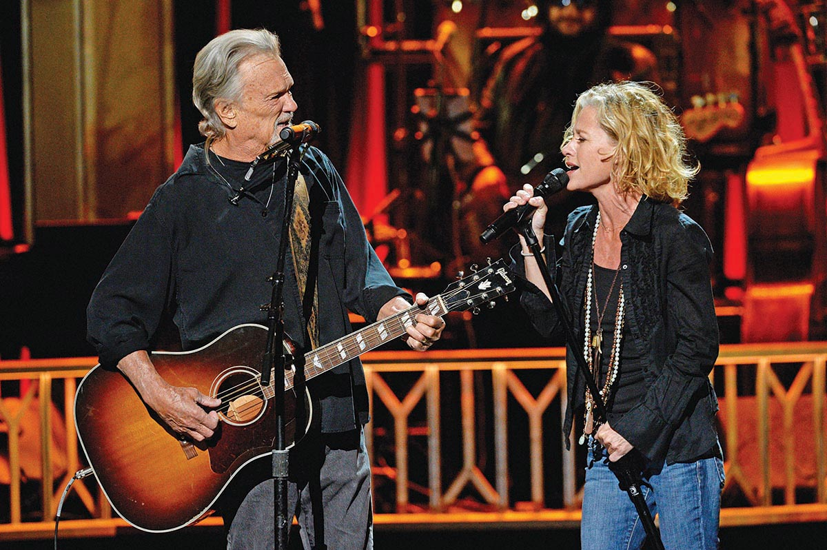 Kris Kristofferson and Shelby Lynne in Great Performances: 2016 Grammy Salute to Music Legends