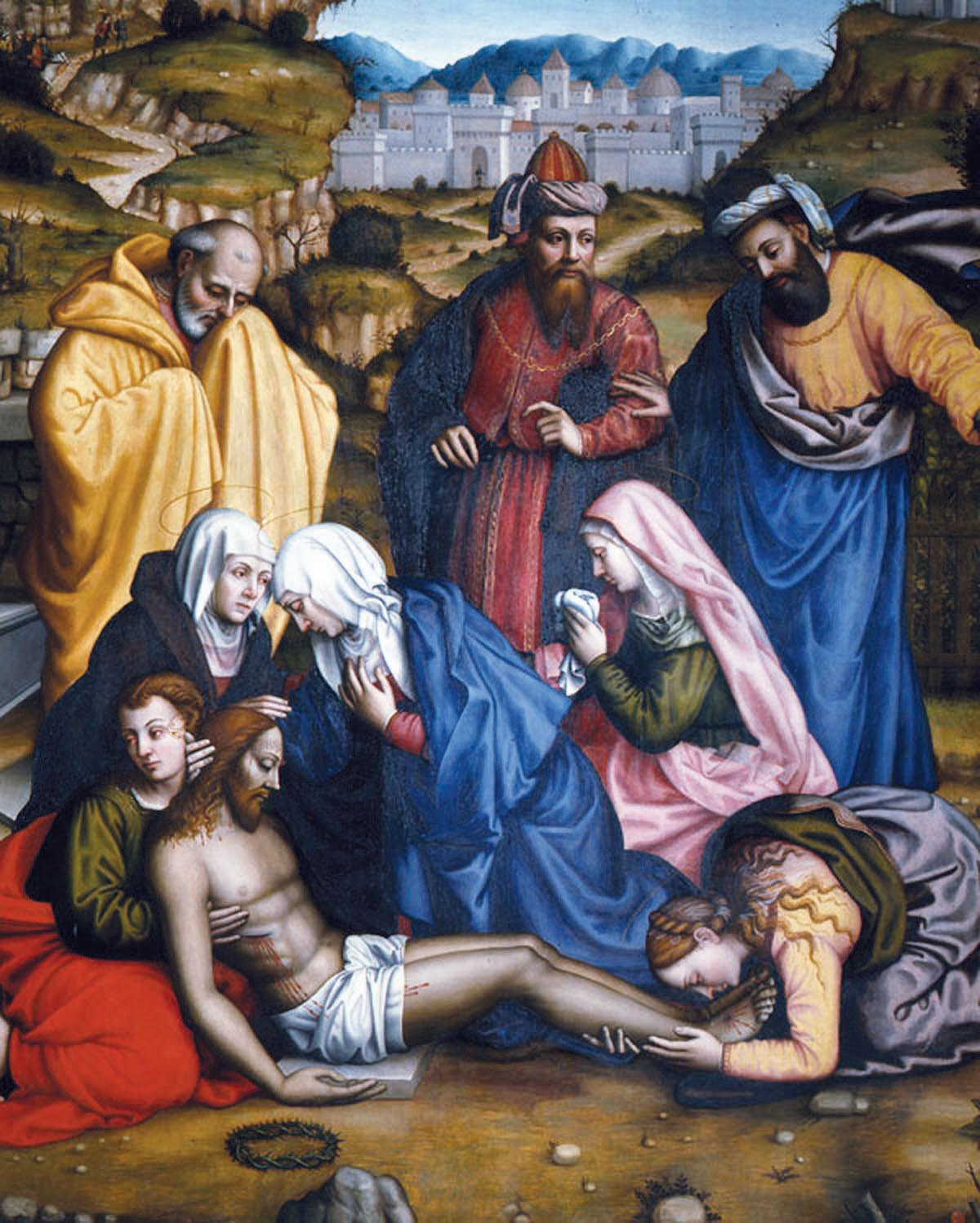 Lamentation With Saints by Plautilla Nelli (1524-1588), from Invisible Women: Forgotten Artist of Florence