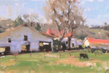 painting by instructor Anne Blair Brown