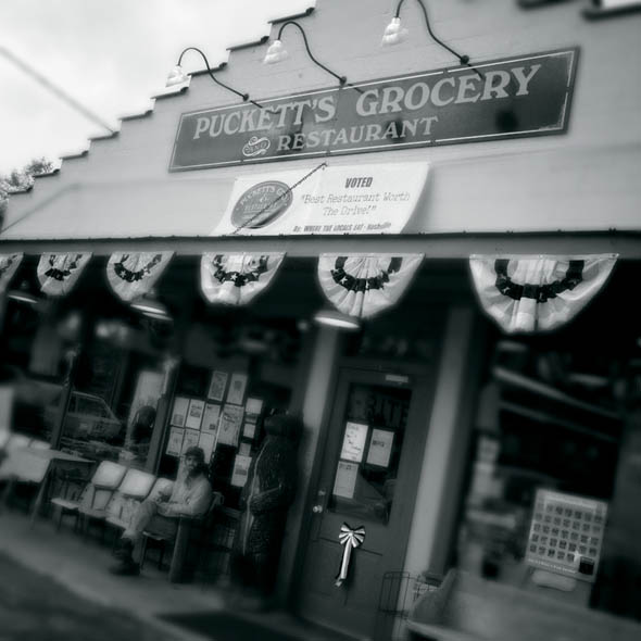 Puckett's Grocery, Leiper's Fork. photo: Jerry Atnip