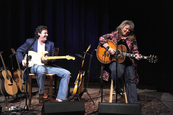 Vince Gill & Leslie Satcher