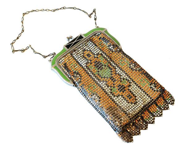 Whiting & Davis vintage purse