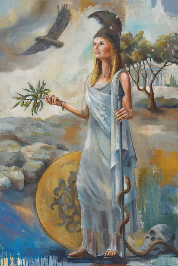 Athena, Rachael McCampbell, Parthenon Exhibit