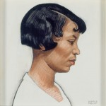 Winold Reiss, Zora Neale Hurston, 1925, Conte crayon on board