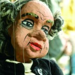Brian Hull, puppet, photographed by Jerry Atnip