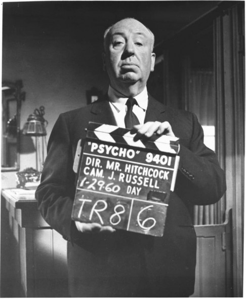 Hitch with clapboard_BW