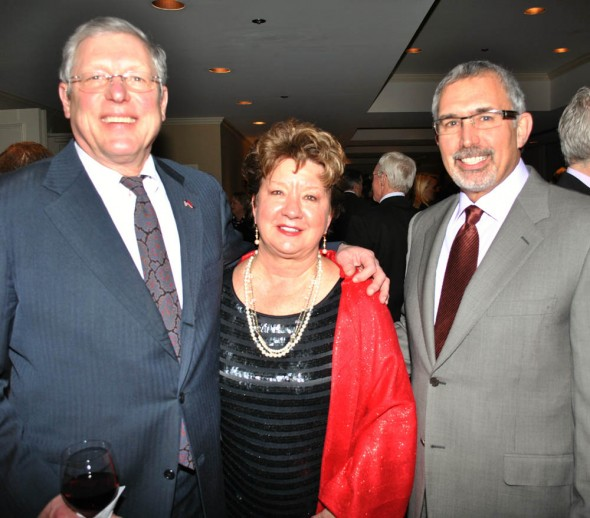 Dancing for Safe Haven - Chairs Bob Tuke, Deb Varallo, John Steele