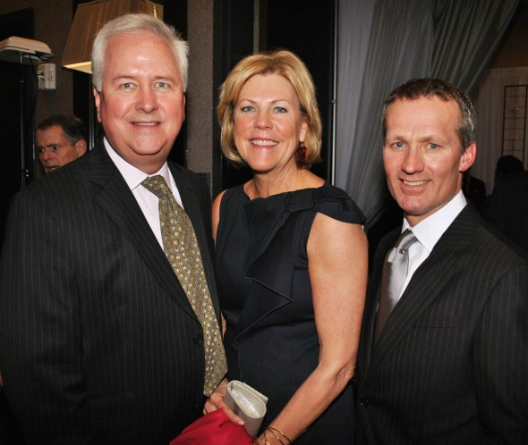 T.J. Martell Gala - Mike and Cathy Kelly, Steve Andre