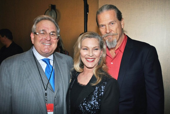 T.J. Martell Gala - Ted Clayton, Susan and Jeff Bridges