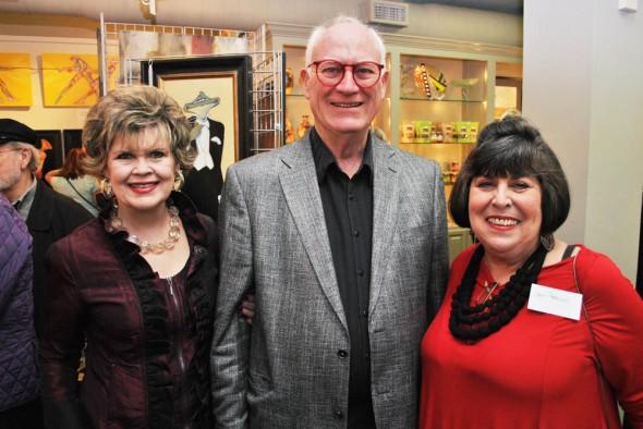 York & Friends Celebration - Daisy King and George Clark, Jann Harrison