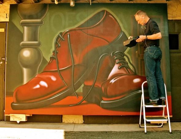 Big Shoe, photo: Courtesy of Artist