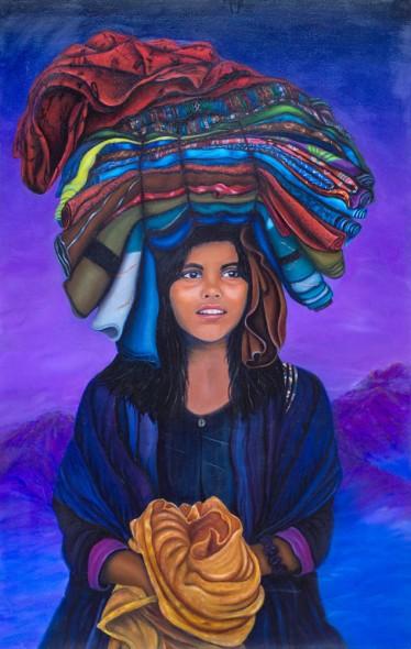 "Quiet Balance, Oil on Canvas, 48"" x 30"""