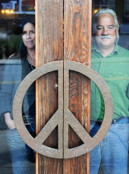 Two Old Hippies, Molly and Tom Bedell