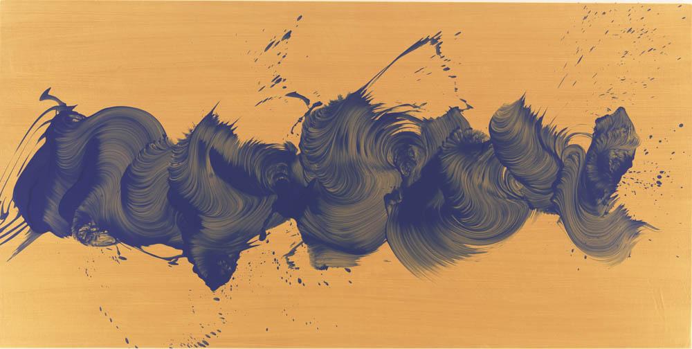 """Radio Row, 2011, Oil on linen, 40"""" x 80"""""""