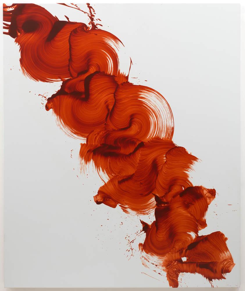 """James Nares, Descriptor, 2011, Oil on linen, 78"""" x 65"""""""