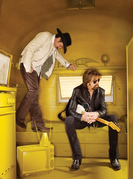 Brooks & Dunn: My prop stylist friend Shelia B and I got permission to spray the interior of this old Airstream a wild yellow color. This was a difficult shot to get, but it is one of my favorites for sure.