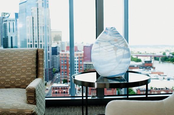"""Wrap Glass, 2013, Glass, 16"""" x 8"""" x 20"""""""