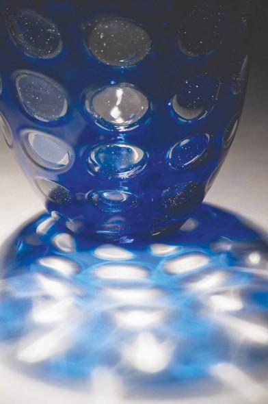 "(Detail) Window Vessel, 2009, Glass, 6.5"" x 6.5"" x 8"""