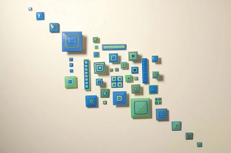 Haptic, 2009, Glass, 6' x 5'