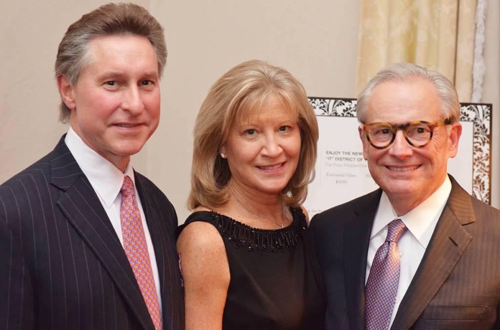 Joe and Brenda Steakley, Jack Bovender – Literary Patrons Party