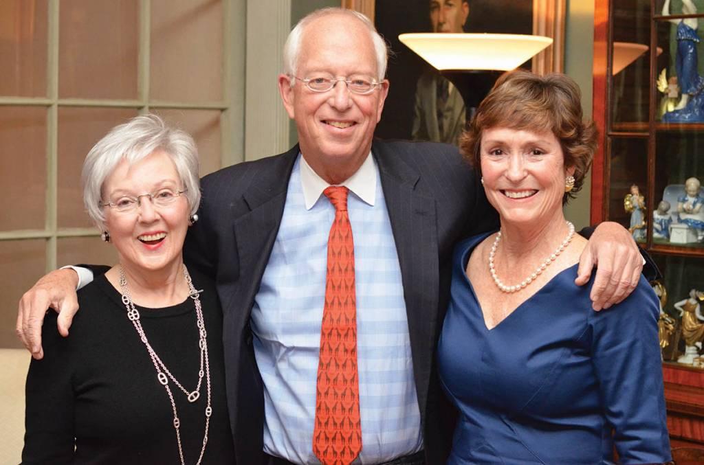 Barbara Bovender, Jim and Nicky Cheek – Literary Patrons Party