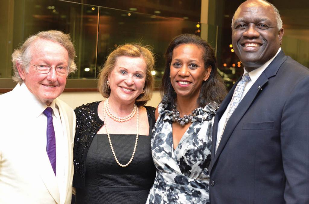 Joe and Judy Barker, Carole and H. James Williams – Mad Men Party