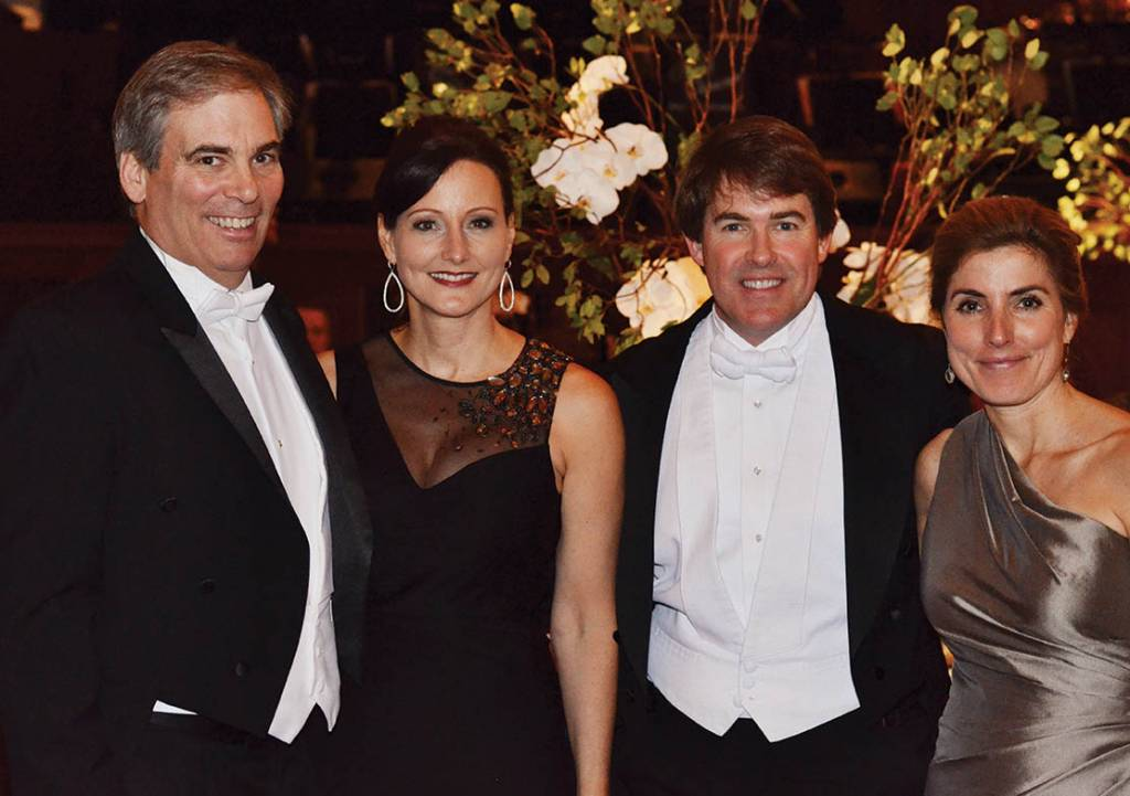 Clark and Norah Spoden, Kevin and Katie Crumbo – Symphony Ball