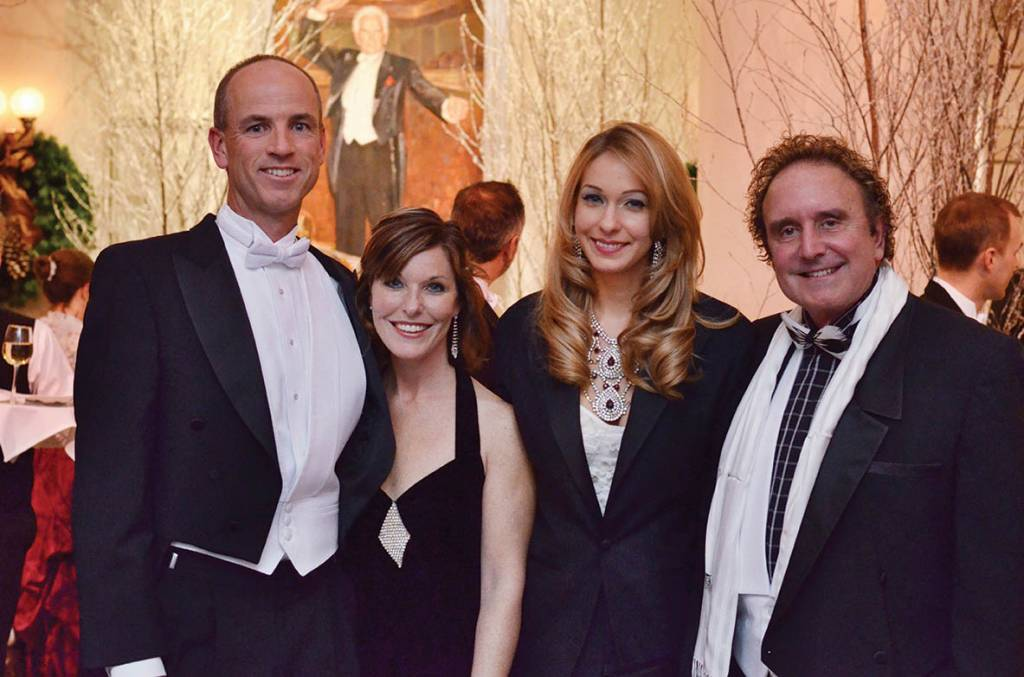 David and Michelle Thornton, Jackie Smith and Robert Sharp – Symphony Ball