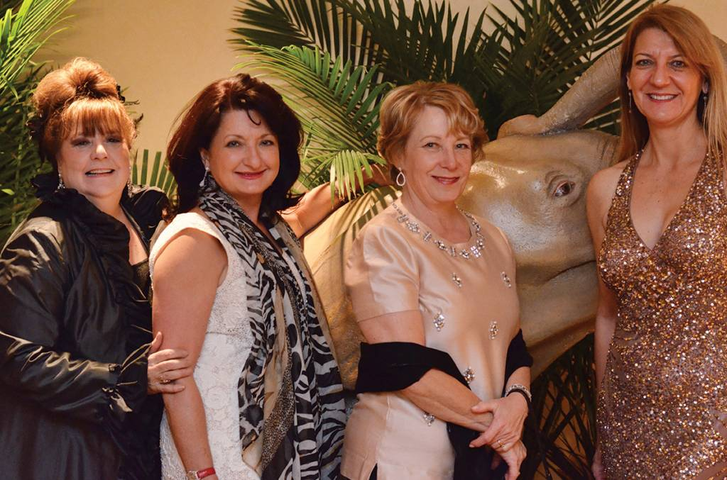 Chairs Patsy Weigel, Deby Pitts, Dancey Sanders, Carla Nelson –  The Night of the Elephant
