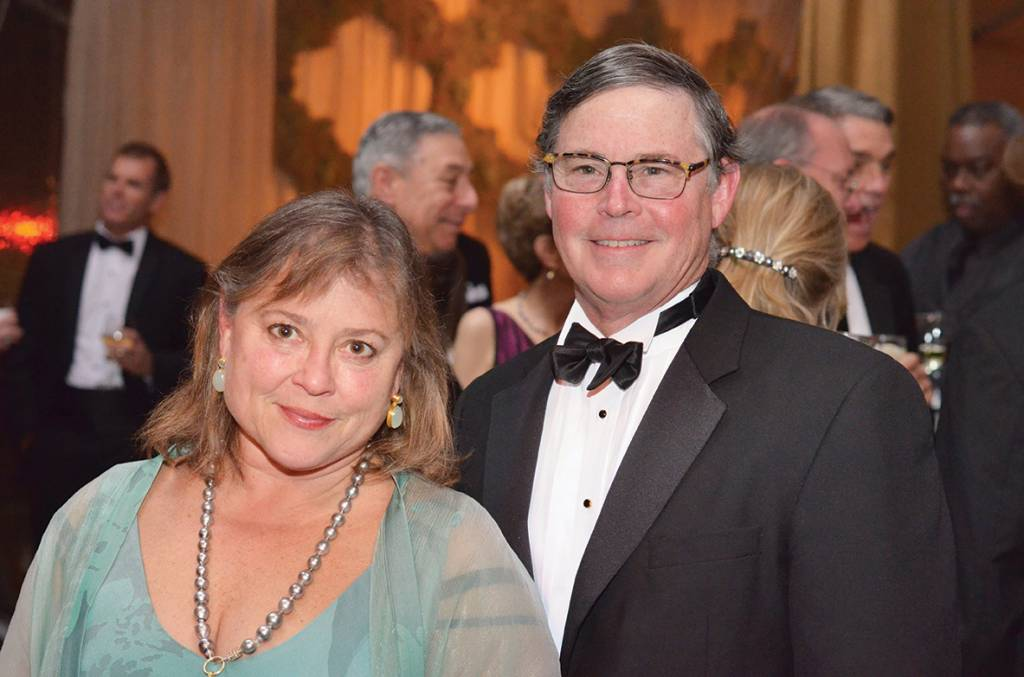 Chairs Brooks and Bert Mathews – Conservancy Gala