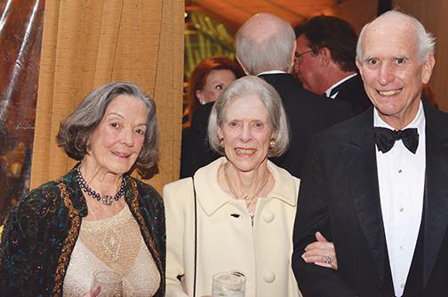 Betty Jo Wemyss, Edie Bass, Martin Brown – Conservancy Gala