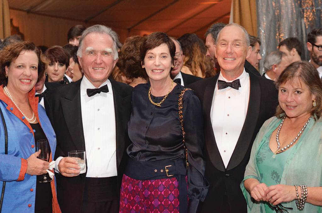 Libby and Ben Page, Josephine and John Darwin, Brooks Mathews – Conservancy Gala