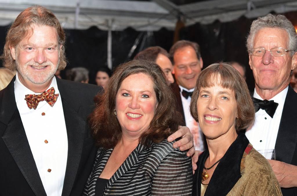 Doug and Robinson Regen, Emmy and Steve Rick – Conservancy Gala