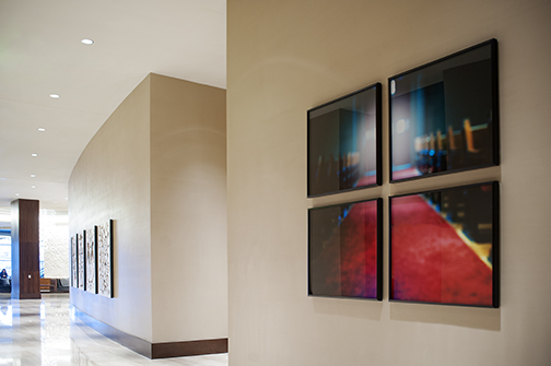 "Jerry Atnip, Home, Photograph, four panels, 35"" x 39"" each"