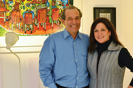 Al Taylor and Jackie Karr – Maillie Holiday Party