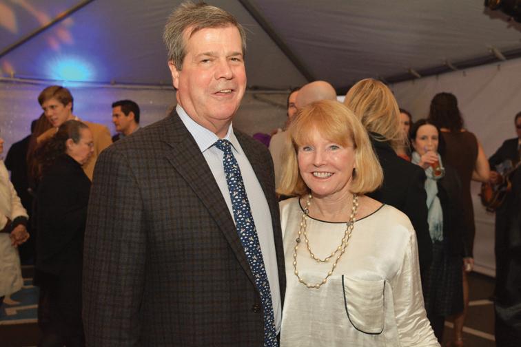 Mayor Karl Dean and Anne Davis  – Winter Lights