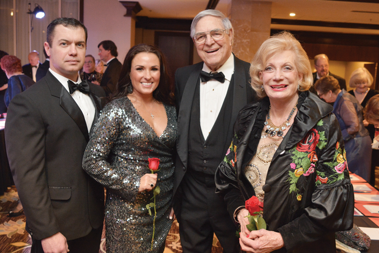 Rob and Nikki Peal, Bob Dudley and Jeanne Smith – La Bella Notte