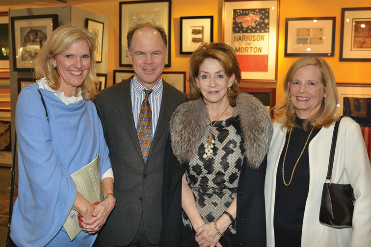 Ann and Tom Curtis, Karyn Frist, Jean Ann Banker – Antiques and Garden Preview Party