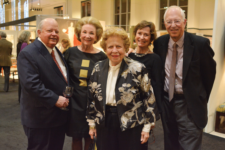 Went and Barry Caldwell, Nicky and Jim Cheek, Margaret Ann Robinson – Antiques and Garden Preview Party