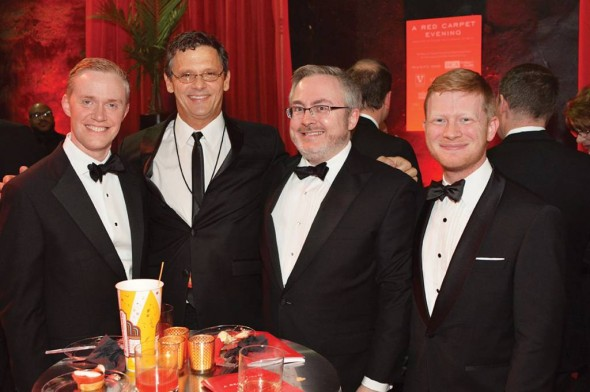 #3   Rodger Moore, Guy March, Brian Jackson, Christopher Nold-Belcourt Oscar Night