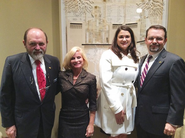 Jim and Janet Ayers, Kristy and Jon Ayers – First Bank Celebration