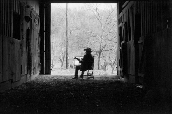 Bill Monroe, Last Winter, 1995, Goodlettsville, Tennessee