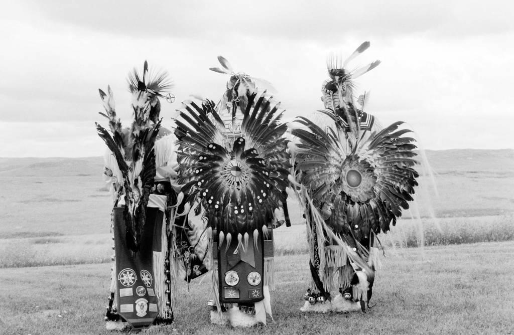 Eagle Dancers, 2000, Oglala, South Dakota