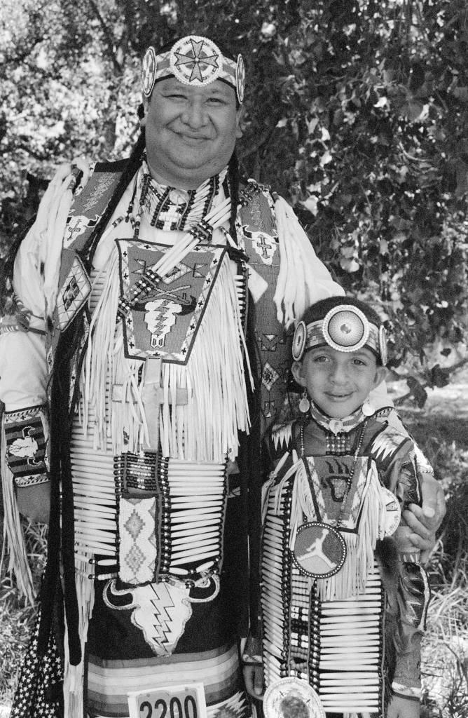 Father and Son, 2012, Pine Ridge, South Dakota