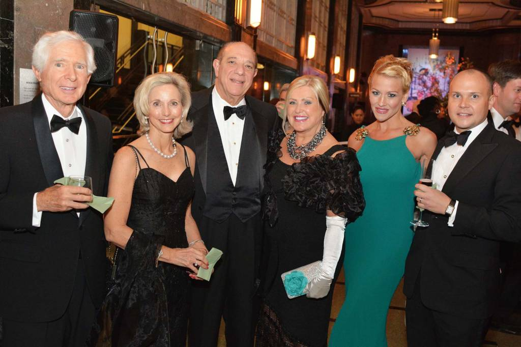 Fred and Debbie Cassetty, Bob and Alberta Doochin, Haley West and Clay Blevins – Frist Gala