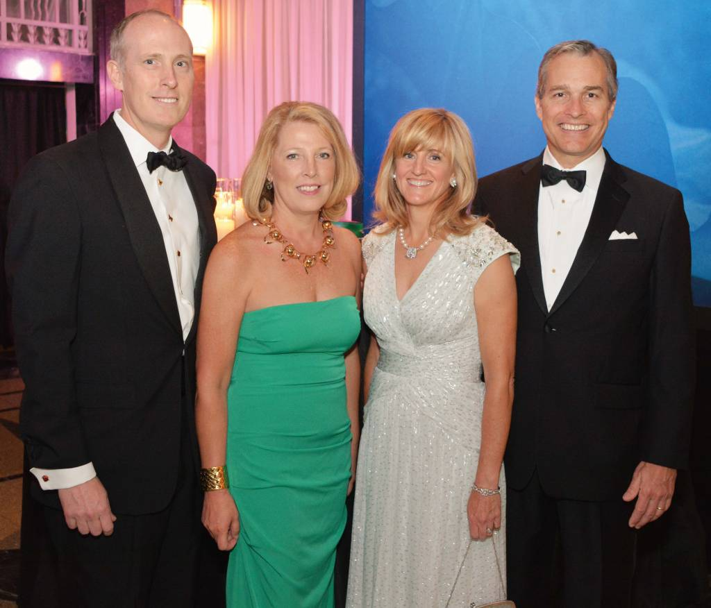 Ridley Wills and Co-Chair Betsy Wills, Co-Chair Cathy and Martin Brown – Frist Gala