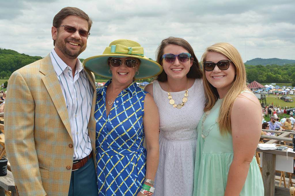 Jay and Christi Turner, Reed Campbell, Crosslin Archdeacon – Steeplechase