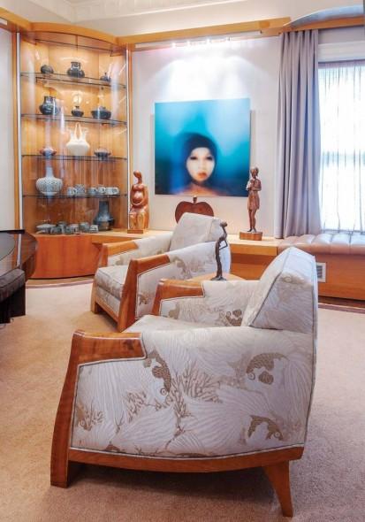 Office: Dakota Jackson Furniture Sam Jury, photograph on aluminum