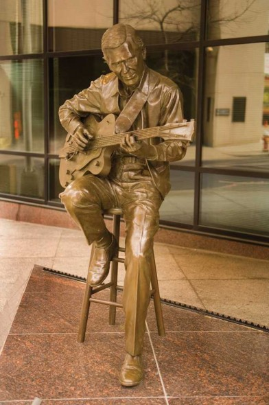 Chet Atkins, 2000, 5th and Union, Nashville, TN
