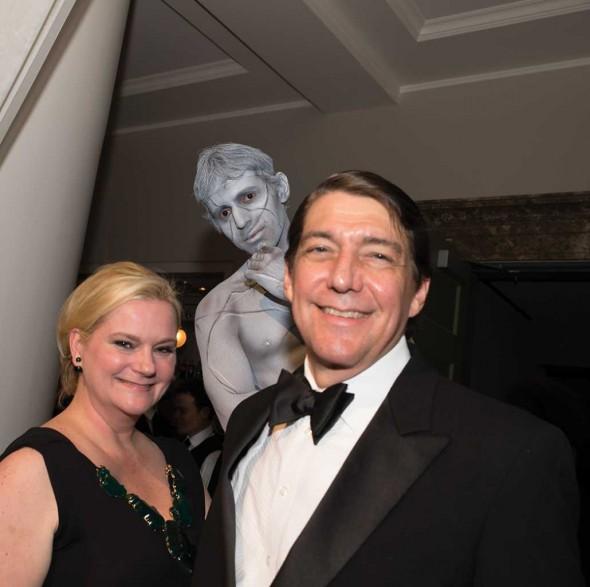 Chairman Melissa Mahanes with husband David Mahanes